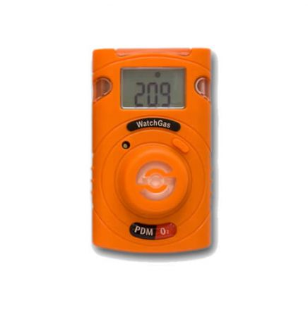 Disposable gas monitor CO, H2S, NH3, SO2 or O2 - WatchGas PDM