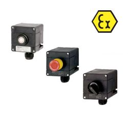 ATEX manual call points, emergency stops and switches