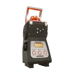 Area gas monitor (multi gas area detector) able to detect up to 5 gases simultaneously (for worksite safety) BM25