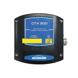 CO2 fixed gas detector for safe area - CTX300 IRCO2 transmitter by Oldham
