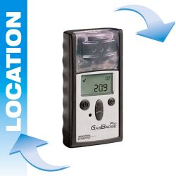 Portable gas detector rental Gasbadge® Pro by Industrial Scientific