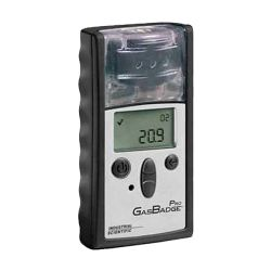 portable single-gas detector for O2, H2S, CO, NH3, PH3, SO2, NO2, HCN, Cl2, ClO2, H2 by industrial scientific