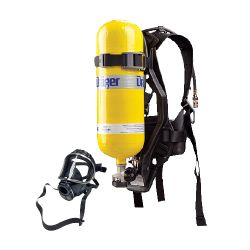 Self-contained breathing apparatus, complete SCBA kit - R-PAS by Dräger