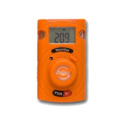 Disposable single-gas detector Watchgas PDM for CO,H2S, NH3, SO2, or O3
