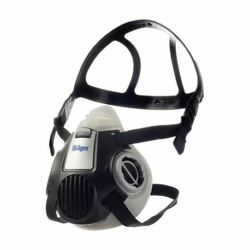 Dual cartridge respirator half-mask respirator X-plore 3300 by Drager