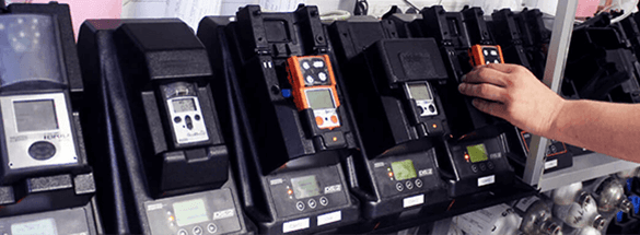 Gas detector maintenance service