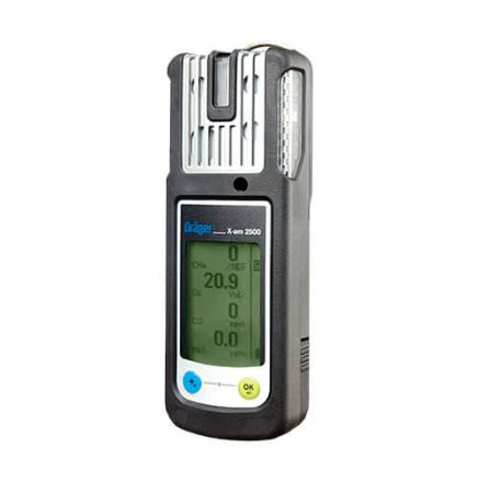 Portable 4 gas detector (EXPLO, O2, CO, H2S)- X-am 2500