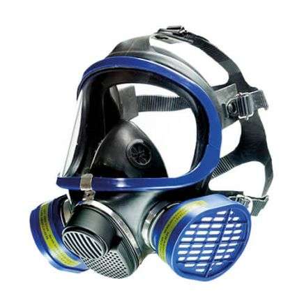 Full face respirator - Dual filter gas mask - X-plore 5500