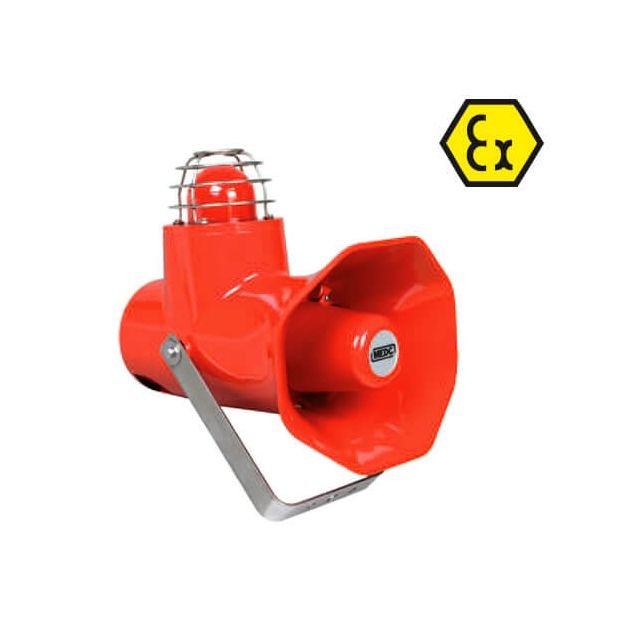 CU1 ATEX audible visual alarm combination
