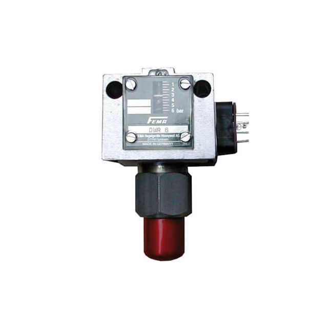 High pressure AIR/GAS pressure switch – Any liquid or gaseous fuel - DWR