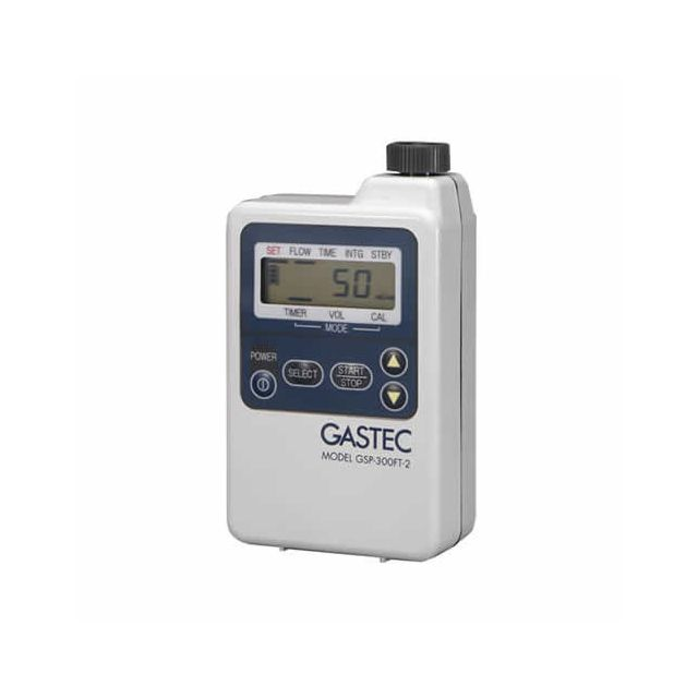 TWA colorimetric tubes with GSP300 automatic gas sampling pump by Gastec
