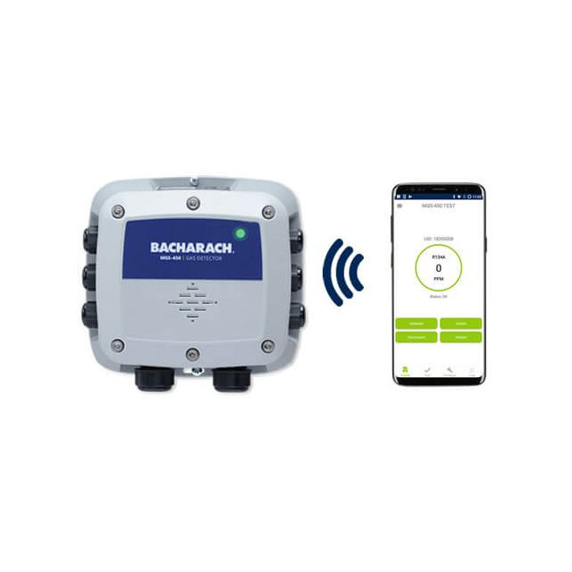 MGS-450 CO2 controller unit, standalone CO2 detector with mobile app