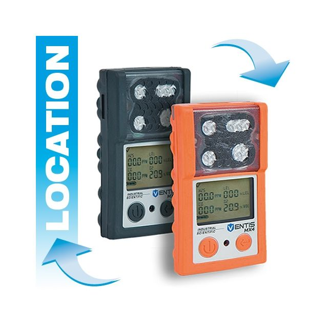 Portable 4 gas detector rental Ventis MX4 by Industrial Scientific
