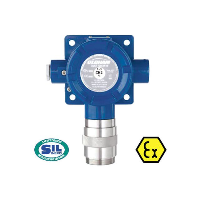 OCLT100 ATEX SIL2 fixed gas detector, Oldham gas detection