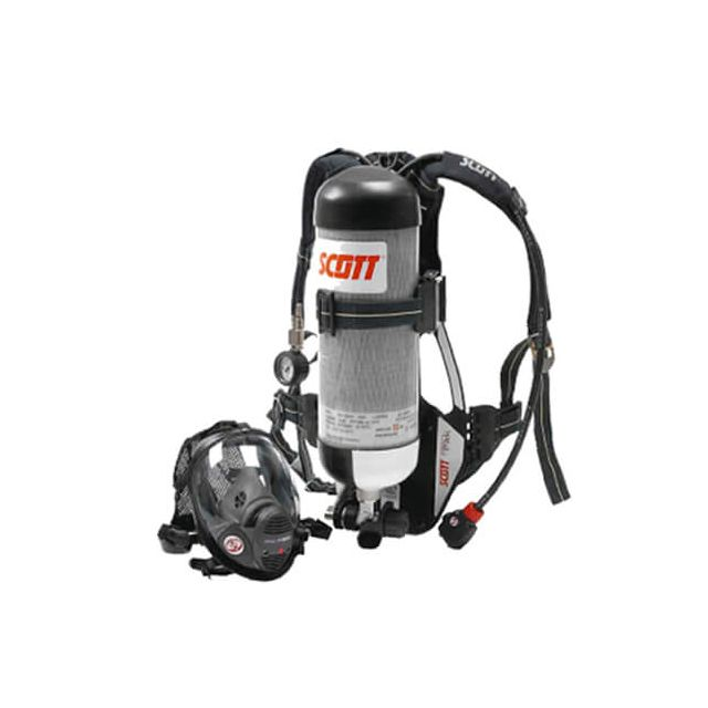 fire SCBA, self-contained breathing apparatus Propak by scott safety