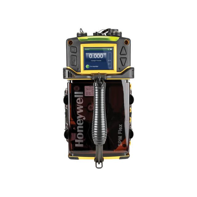 Single point chemcasette tape-based gas detector, toxic gas optical monitoring system SPM Flex by Honeywell