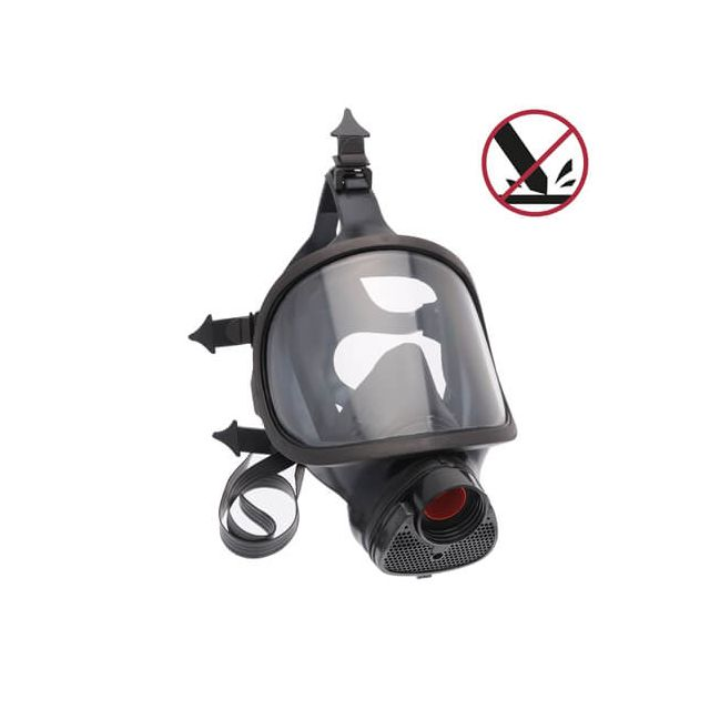 Class 3 Full mask with anti-solvent & anti-scratch lens