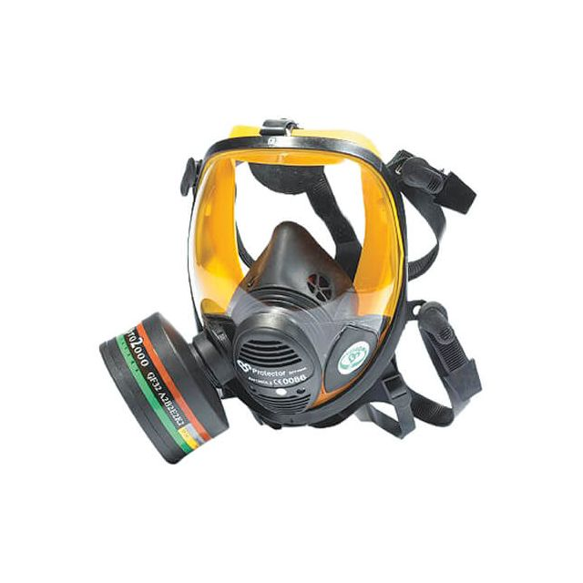 Full face gas mask (panoramic respirator) VISION by Scott Safety 3M