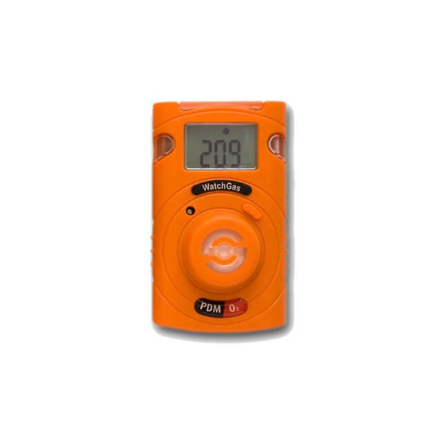 Disposable single-gas detector Watchgas PDM for CO,H2S, NH3, SO2, or O2