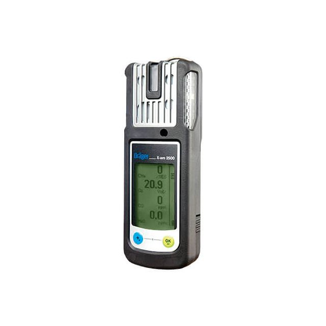 Dräger X-am 2500 portable gas detector, 4 gas monitor