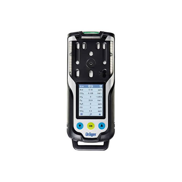 X-am 8000 portable multi gas detector - 7 gas detection by Drager for toxic, combustible gas and volatile organic compounds monitoring