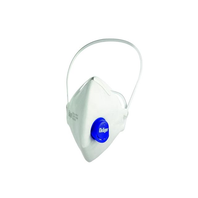 FFP3 X-plore 1730 V dust mask with valve by Dräger