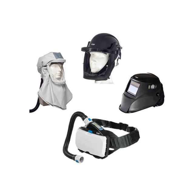 X-plore 8000 powered air purifying respirator Dräger PAPR