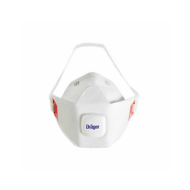 Disposable disposable dust mask (particles, bacteria, virus) X-plore 1900 Drager