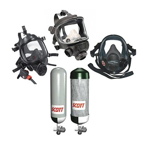 Scba Accessories Masks Compressed Air Cylinders More Safetygas