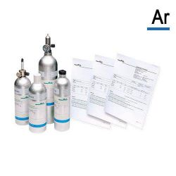 Argon calibration gas cylinder (Ar) by Air Products