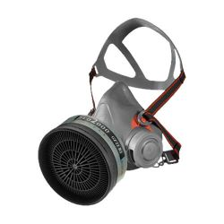 Scott aviva 40 half mask respirator, protection against gas and particles