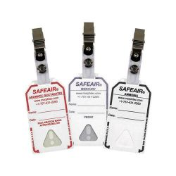 SafeAir badge chemical detection badge by Morphix Technologies