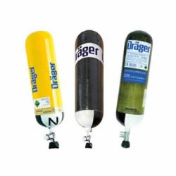 SCBA compressed air cylinders (200 or 300 bar cylinders)