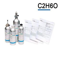 Ethanol calibration gas cylinder C2H6O by Air Products
