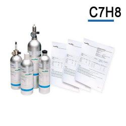 Toluene calibration gas C7H8 cylinder by Air Products