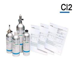 Chlorine calibration gas, Cl2 calibration gas cylinder by Air Products