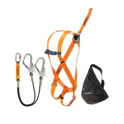 Scaffolding harness set - Fall arrester for work at height