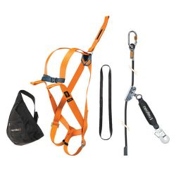 Scaffolding harness kit for work at height
