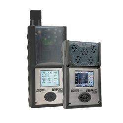 iBrid MX6 multi gas detector, toxic, asphyxiant and combustible gas monitor, up to 6 gases by Industrial Scientific