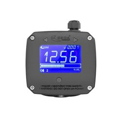 Single channel 230V gas controler with LCD display, buzzer & 2 relays