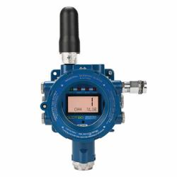 OLCT80 wireless fixed gas detector with Modbus, 4-20 mA outputs & alarm relays by Oldham