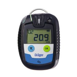CO, H2S, SO2 or O2 single gas detector Pac 6500 by Dräger