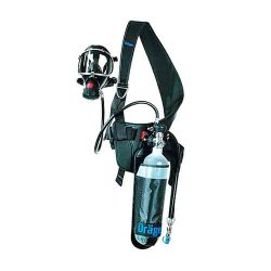 Self-contained breathing apparatus for short duration works PAS Clot with air supplying connector by Drager
