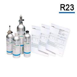 R23 calibration gas cylinder freon refrigerant gas by Air Products for gas detector calibration