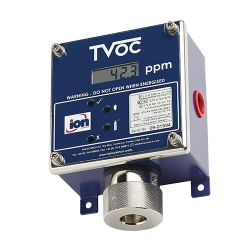 TVOC PID fixed gas detector for volatile organic compounds or VOC by Ion Science