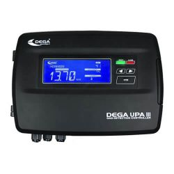 Digital gas detection controller UPA3 (16 or 32 detectors) by DEGA
