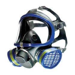 X-plore 5500 full face gas mask, dual filter respirator X-plore 5500 by Dräger