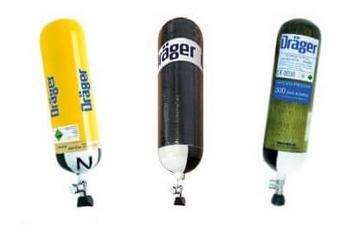 SCBA compressed air cylinders