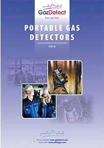 Portable gas detectors catalog
